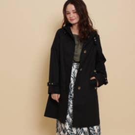 アナトリエ anatelier Traditional Weatherwear フーデッドコート (ブラック)