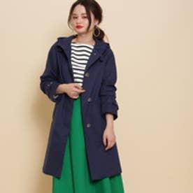 アナトリエ anatelier Traditional Weatherwear フーデッドコート (ブルー)
