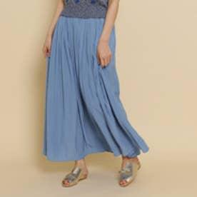 アナトリエ anatelier 【Sサイズあり】デシンエアフロースカート (ライトブルー)