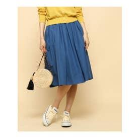 アナトリエ anatelier 【WEB限定カラー・SS-Lあり】【新色あり】カラータフタスカート (ブルー)