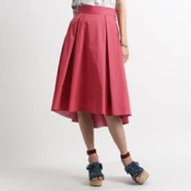 アクアガール aquagirl ミモレテールカットスカート (ピンク)
