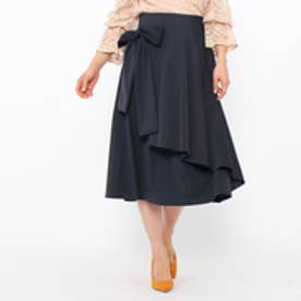 アクアガール aquagirl リボンラップスカート (ネイビー)