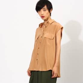 アクアガール aquagirl フラップポケットシャツ (ブロンズ)