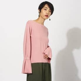 アクアガール aquagirl 【洗える】ディライトベルシェイプニット (ピンク)