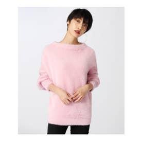 アクアガール aquagirl シャギーニットプルオーバー (ピンク)