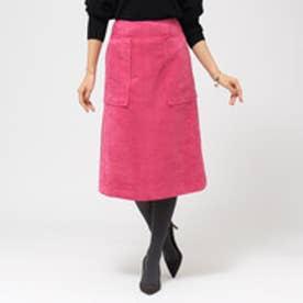 アクアガール aquagirl BIGポケットフェイクスエードスカート (ピンク)