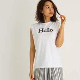 アクアガール aquagirl ◆MADISONBLUE HELLO NOSLEEVE TEE (ホワイト)