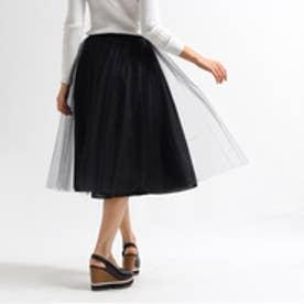アクアガール aquagirl Bilitis dix-sept ans チュールレイヤードスカート (ブラック)