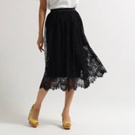 アクアガール aquagirl シャーロットレーススカート (ブラック)