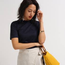 アクアガール aquagirl MUVEIL ハートポケットTシャツ (ネイビー)