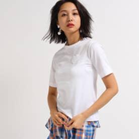 アクアガール aquagirl MUVEIL ハートポケットTシャツ (ホワイト)