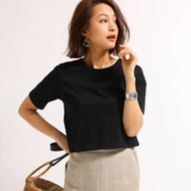 アクアガール aquagirl 【洗える】コンパクトTシャツ (ブラック)