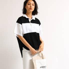 アクアガール aquagirl 【WEB限定】Americana ラウンドテイルラガーシャツ  (ホワイト)