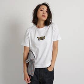 アクアガール aquagirl ◆【WEB限定】MUVEIL サガラ刺しゅうTシャツ  (ホワイト)