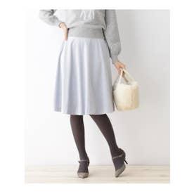 ボンメルスリー Bon mercerie ベルベットコールスカート (ライトブルー)