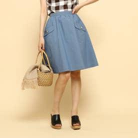 ボンメルスリー Bon mercerie 【SS・Sサイズあり】【10th記念アイテム】スカート (ブルー)