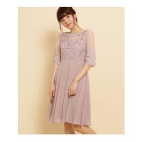 ボンメルスリー Bon mercerie Dorry Doll デザイントップドレス (ベビーピンク)