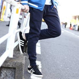ベース コントロール BASE CONTROL 【MADE IN JAPAN】吊り裏毛裾リブパンツ (ネイビー)