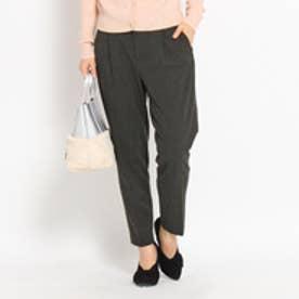 クチュール ブローチ Couture brooch チェックウォームパンツ (ブラック)