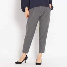 クチュール ブローチ Couture brooch 起毛テーパードパンツ (グレー)