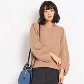 クチュール ブローチ Couture brooch ダブルクロスシャツ (キャメル)