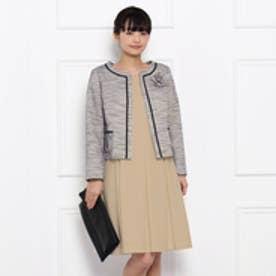 クチュール ブローチ Couture brooch ジャージワンピース (サンドベージュ)