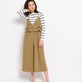 クチュール ブローチ Couture brooch フリルオールインワン (ブラウン)