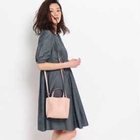 クチュール ブローチ Couture brooch ウエストリボンワンピース (ネイビー)