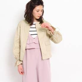 クチュール ブローチ Couture brooch 袖ギャザーブルゾン (ベージュ)