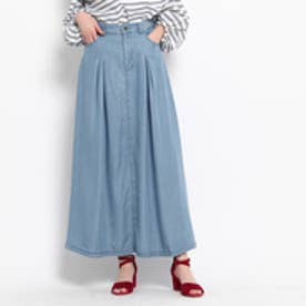 クチュール ブローチ Couture brooch テンセルマキシデニムスカート (ネイビー)