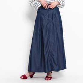 クチュール ブローチ Couture brooch テンセルマキシデニムスカート (ブルー系)