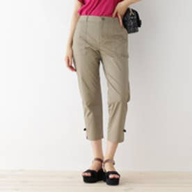 クチュール ブローチ Couture brooch プチリボンクロップドパンツ (カーキ)