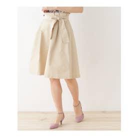 クチュール ブローチ Couture brooch 【WEB限定サイズ(SS・LL)あり】サッシュリボンスカート (ライトベージュ)