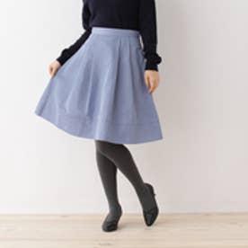 クチュール ブローチ Couture brooch 【WEB限定サイズ(SS・LL)あり】タフタタックスカート (ブルー)