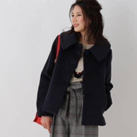 クチュール ブローチ Couture brooch ステンカラージャケット (ブルー系)