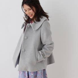 クチュール ブローチ Couture brooch ステンカラージャケット (グレー)