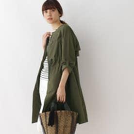クチュール ブローチ Couture brooch レースモチーフコート (オリーブグリーン)
