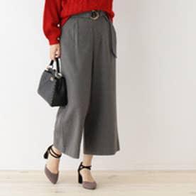 クチュール ブローチ Couture brooch 【WEB限定サイズ(SS・LL)あり】ワイドパンツ (チャコールグレー)