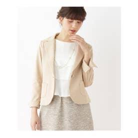 クチュール ブローチ Couture brooch ポンチテーラードジャケット (ベージュ)