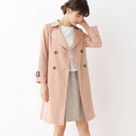 クチュール ブローチ Couture brooch 【WEB限定サイズ(SS・LL)】裏地花柄トレンチコート (ピンク)