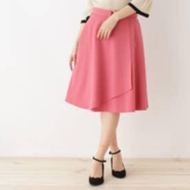 クチュール ブローチ Couture brooch 【WEB限定サイズ(SS・LL)あり】巻き風フレアースカート (ピンク)