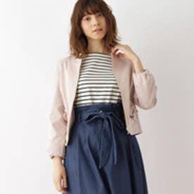クチュール ブローチ Couture brooch [WEB限定サイズ(SS・LL)あり]ラッフルポケットブルゾン (ベビーピンク)