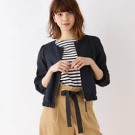 クチュール ブローチ Couture brooch [WEB限定サイズ(S・LL)あり]グログランリボンブルゾン (ブルー系)