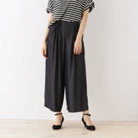クチュール ブローチ Couture brooch 【WEB限定サイズ(LL)あり】タック入りワイドパンツ (ディープネイビー)