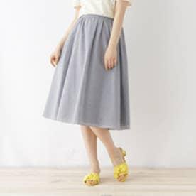 クチュール ブローチ Couture brooch 【WEB限定サイズ(S・LL)あり】ドビーストライプスカート (ディープネイビー)