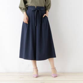 クチュール ブローチ Couture brooch 【WEB限定サイズ(S・LL)あり】ワイドクロップドパンツ (ディープネイビー)