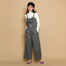 クチュール ブローチ Couture brooch キャミソール&パンツセットアップ (ブラック)