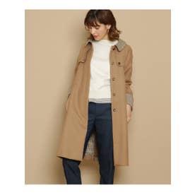 クチュール ブローチ Couture brooch ステンカラーコート (ベージュ)