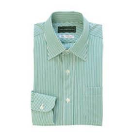 クール ストラティン COOL STRUTTIN'&co. THOMAS MASON ストライプドレスシャツ (モスグリーン)