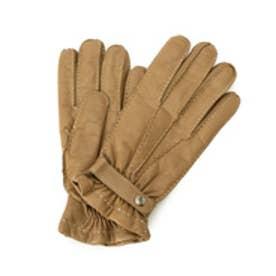ドレステリア DRESSTERIOR Italguanto ナッパレザーストラップ付き手袋 (ブラウン)